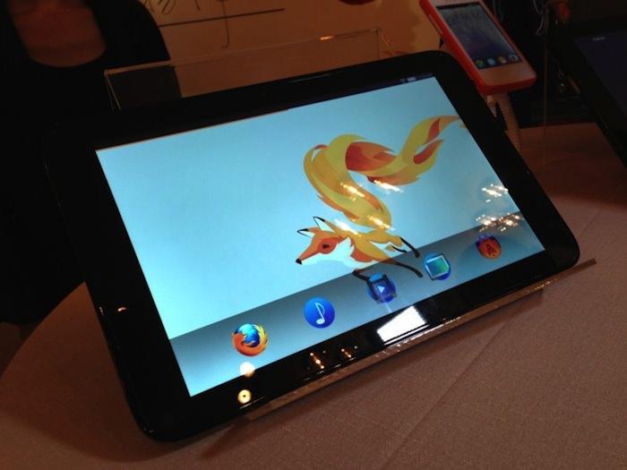 Foxconn et Mozilla collaborent à l'élaboration 5 appareils pour les OEM, y compris une tablette