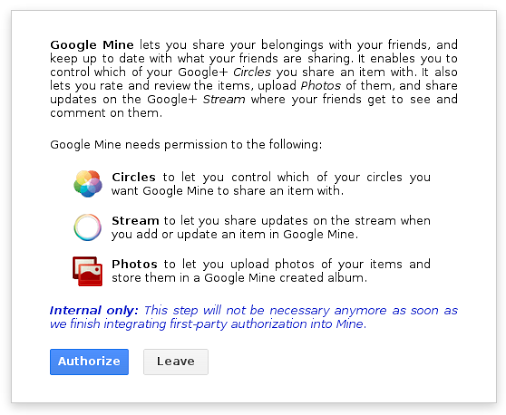 Google Mine : garder une trace des choses que vous avez et que vous voulez, partagez-les