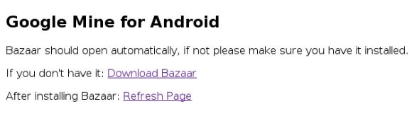 Google Mine serait déjà sur Bazar, le Play Store interne de Google