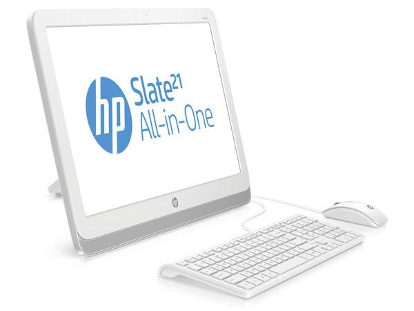 Vue de devant du HP Slate 21