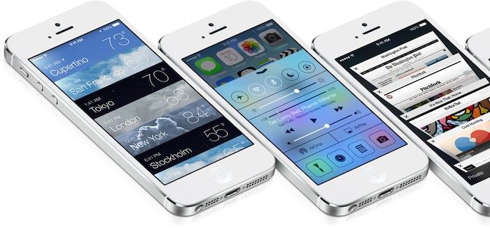 iOS 7 et la fin du skeuomorphisme pour un design plat