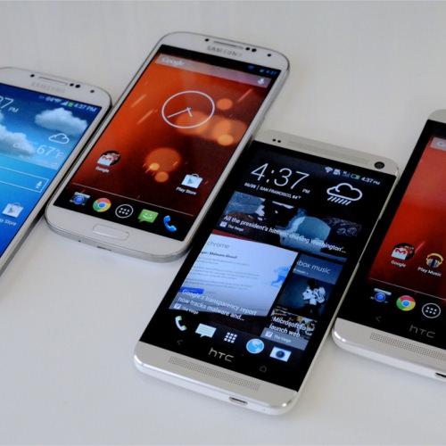 Le Galaxy S4 et le HTC One 'Google Play Edition' arrivent sur le Google Play Store
