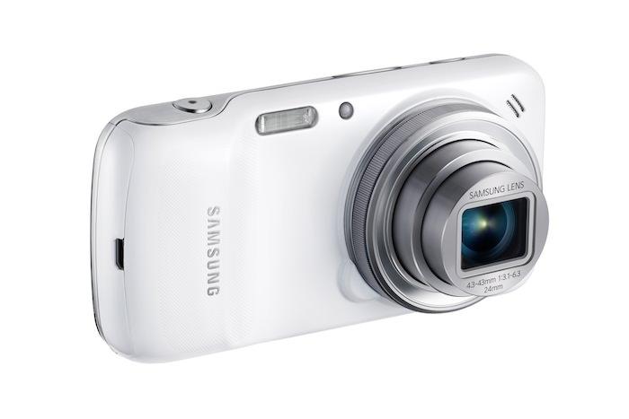 Autre vue de face du Galaxy S4 Zoom