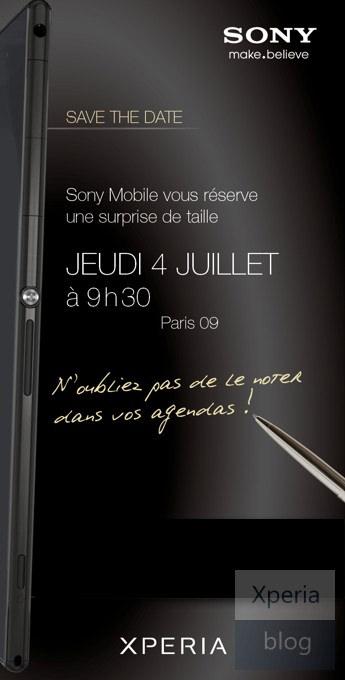 Image de l'évènement Sony à Paris le 4 juillet
