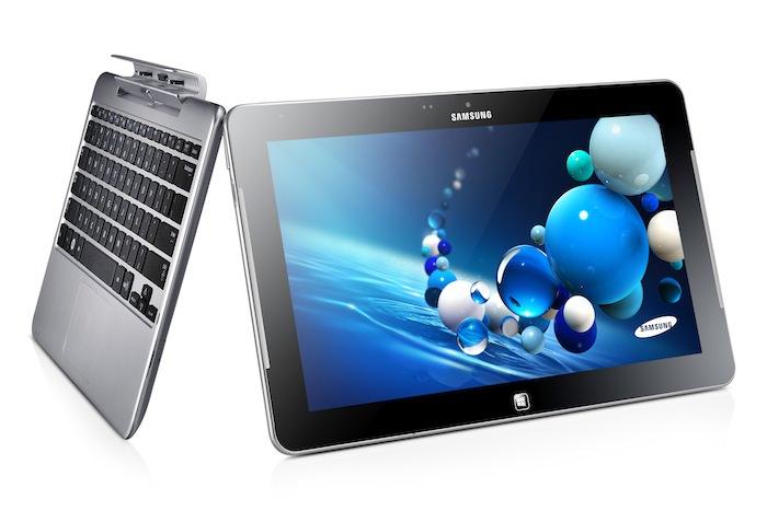L'ATIV Smart PC est un ordinateur 2-en-1 pouvant servir à la fois comme un ordinateur portable mais aussi comme une tablette
