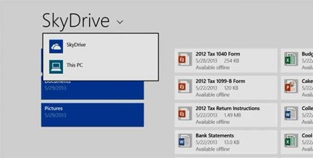 SkyDrive est devenu une pièce maîtresse de Windows 8.1
