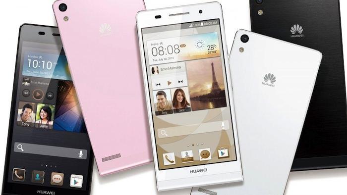 Le Ascend P6 sera disponible en noir, blanc et rose