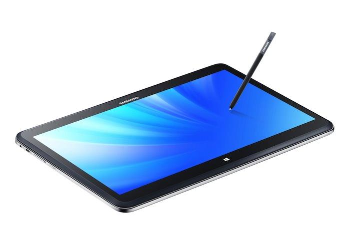 ATIV Q en mode tablette
