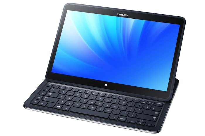 ATIV Q en mode 'semi' notebook