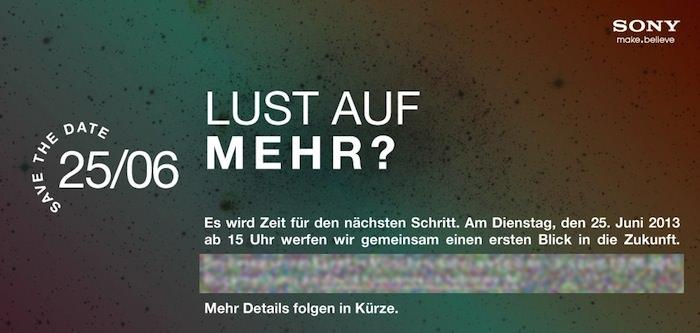 Sony annonce un événement le 25 juin à Munich, mais son contenu reste un mystère
