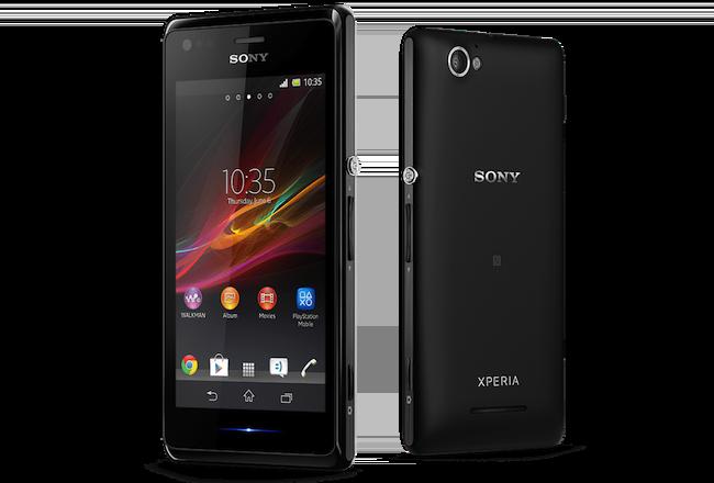 Sony annonce un smartphone dual-core, équipé du NFC, le Xperia M