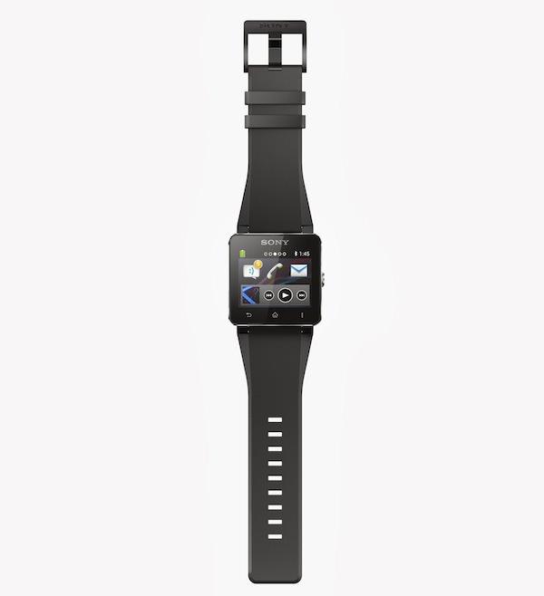 Sony a opté pour un design en aluminium, et un bracelet en acier inoxydable
