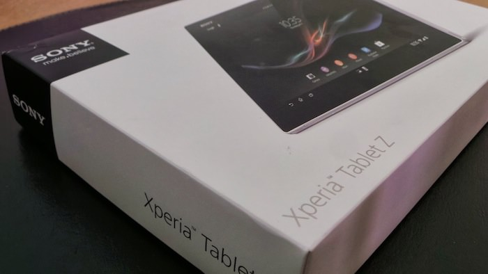 Sony Xperia Tablet Z, l'une des tablettes Android les plus convaincantes