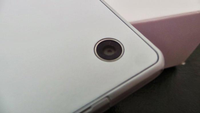 Vue arrière de la tablette Xperia Tablet Z