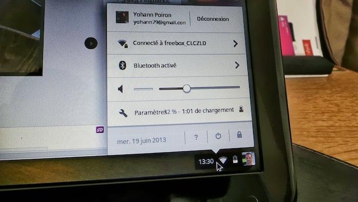 La batterie pourra s'avérer bien faible pour une utilisation courante du Chromebook