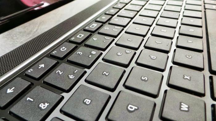 Le clavier est très agréable
