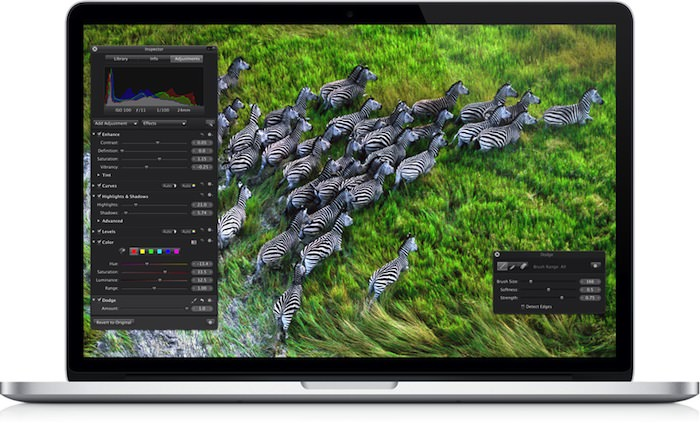 Du Retina dans le MacBook Air ?