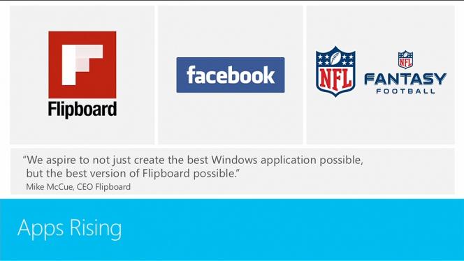 Windows 8 dispose enfin de son application officielle Facebook