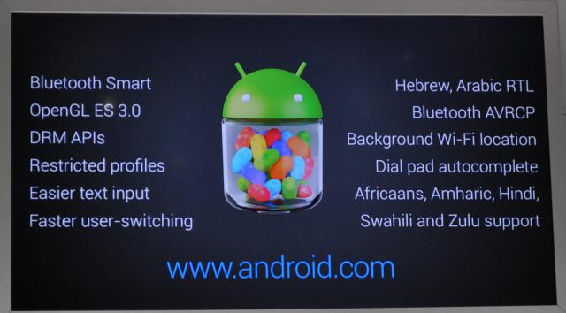 Android 4.3 Jelly Bean : ce que vous devez savoir
