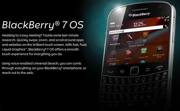 BlackBerry annonce 6,8 millions de smartphones vendus, promet de nouveaux dispositifs BlackBerry 7