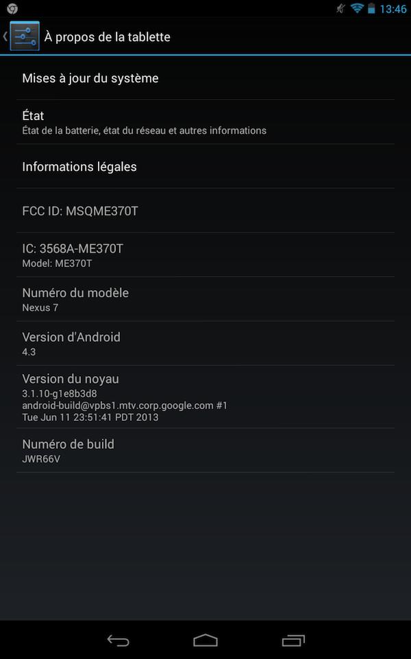 Comment faire : flasher Android 4.3 sur votre Nexus 4, Nexus 7, Nexus 10 et Galaxy Nexus