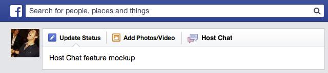 Facebook teste une fonctionnalité de 'salon de discussion', suggérant que l'on revient en 2001