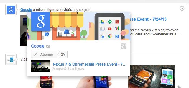 Google teste les cartes d'information sur YouTube, à la manière de ce que l'on a sur Google+