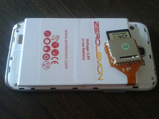 Ajout d'une batterie ZeroLemon de 9300 mAh