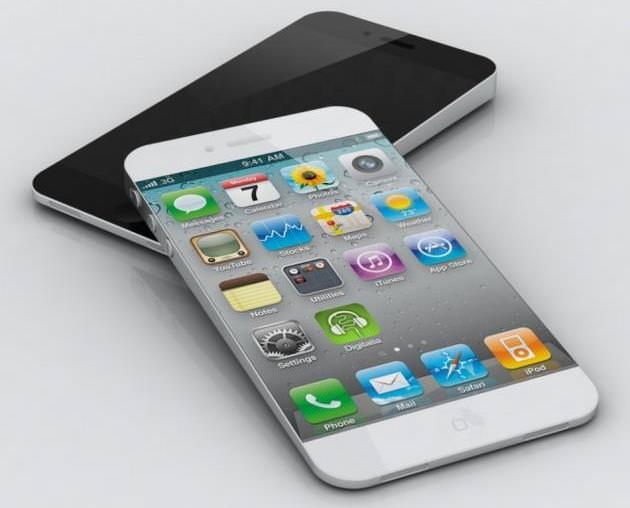 Concept d'un iPhone 5S