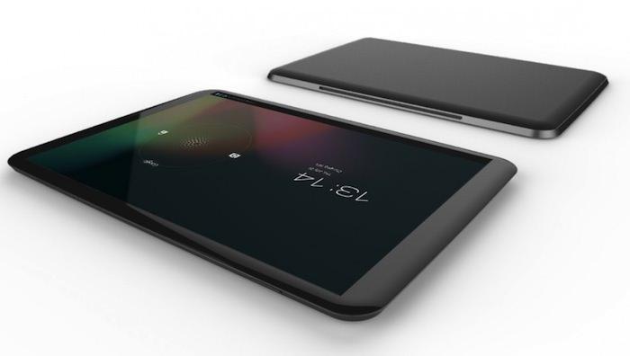 Concept d'une Nexus 7 2 avec une coque métalique