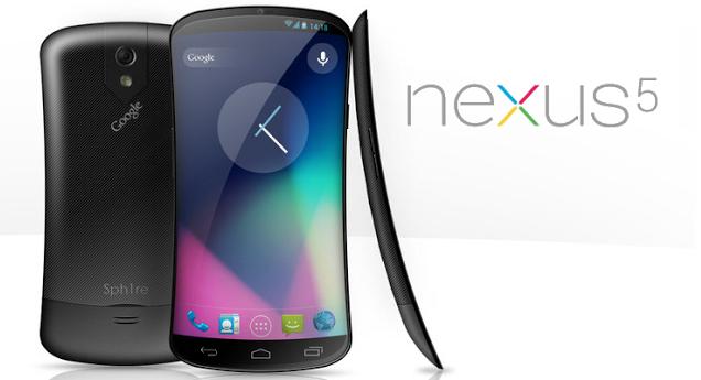 Concept du Nexus 5