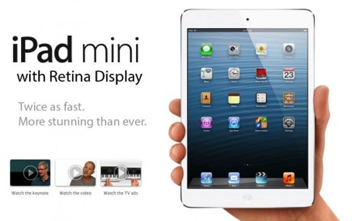 Le nouvel iPad Mini pourrait être retardé pour 2014