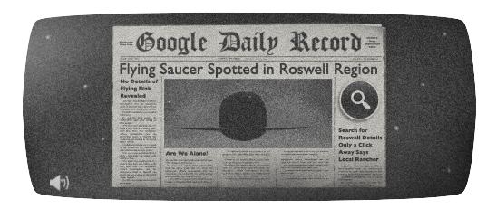 Ça fait les gros titres du Google Daily Record
