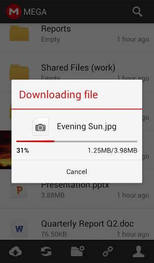 Téléchargement de fichiers