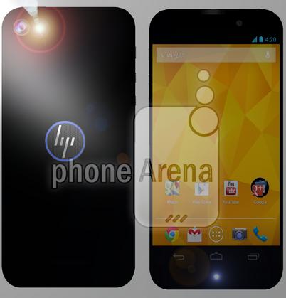Image du HP Brave, le possible smartphone de HP