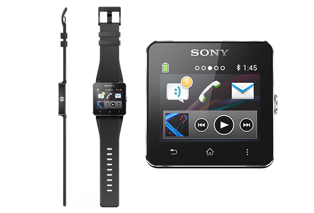 Diverses applications sont présentes dans la Sony SmartWatch 2