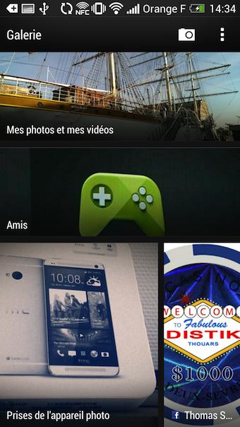 HTC Zoe permet de regrouper vos photos en albums