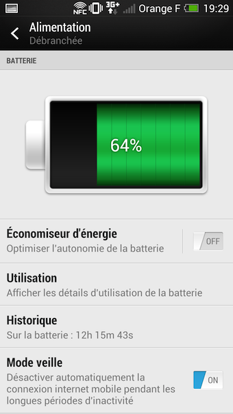 La batterie est le point faible du HTC One