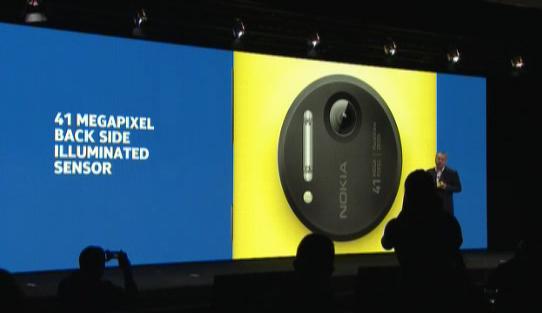 Voici le Nokia Lumia 1020, un smartphone Windows Phone avec une caméra de 41 mégapixels