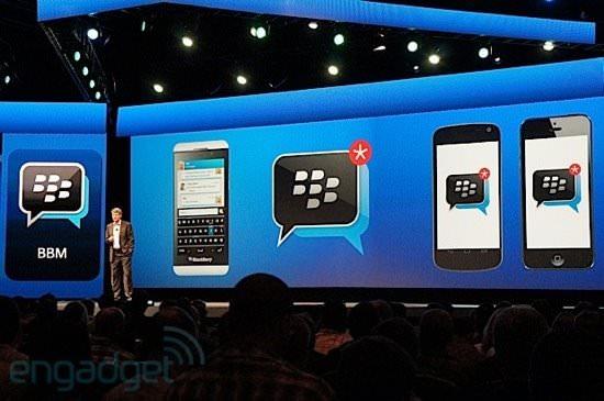 BlackBerry Messenger pourrait devenir une société à part entière