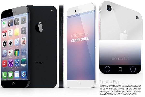 Concept de l'iPhone 6 réalisé par Johnny Plaid