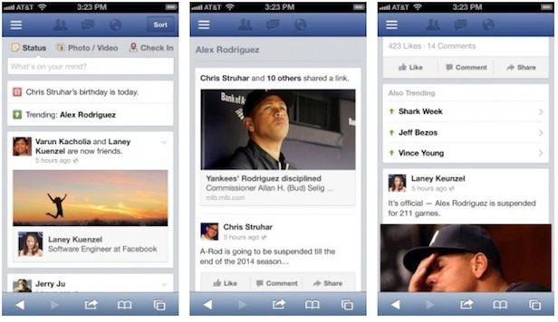 Facebook devient encore plus 'Twitter-like' avec les Trending Topics