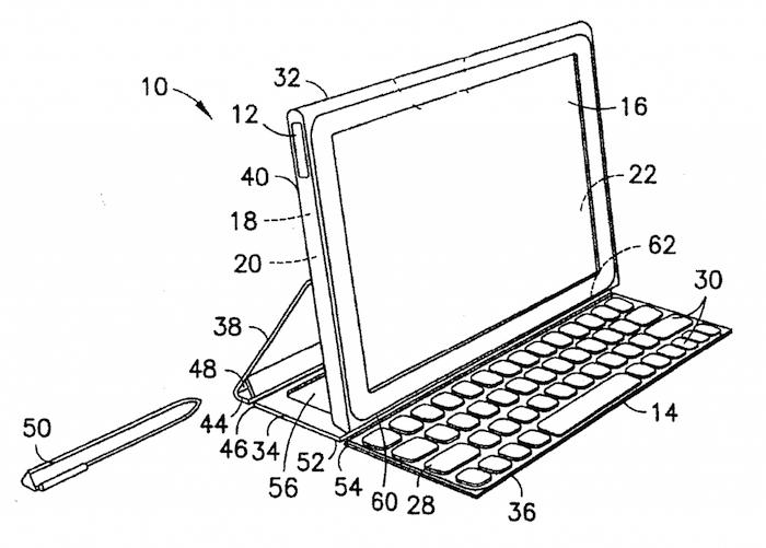 Concept de la tablette vu par Nokia avec son dock clavier