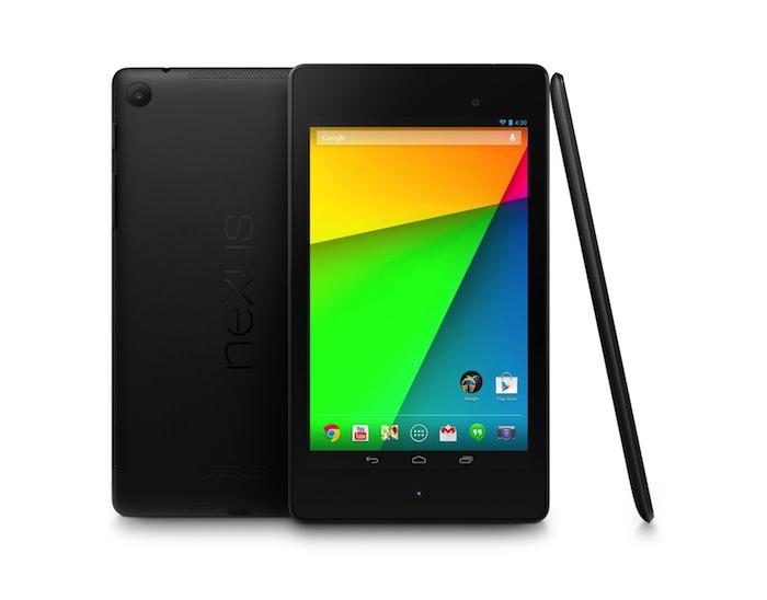 La nouvelle Nexus 7 est prévue d'être vendue à 3,5 millions d'exemplaires cette année