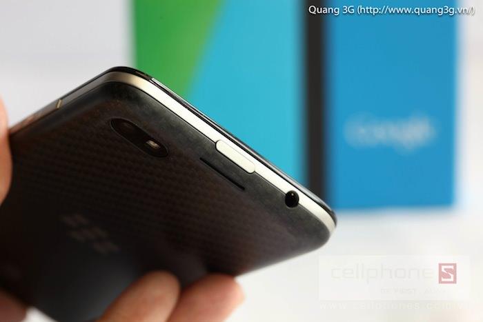 Vue de dessus du BlackBerry Z30