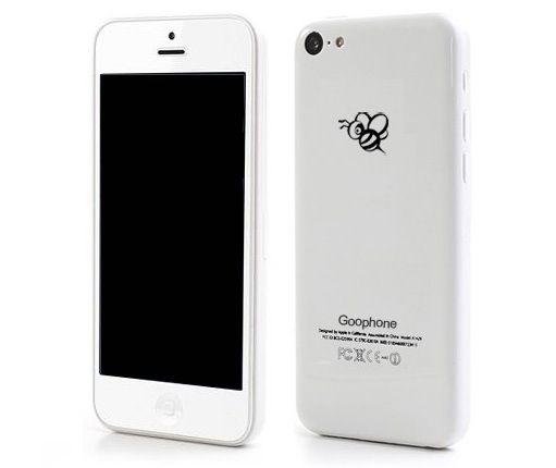 Le Goophone I5C, un clone de l'iPhone 5C, sera commercialisé en septembre pour 99 dollars