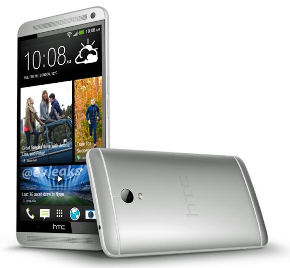 Le HTC One Max (T6) se révèle dans un image de presse