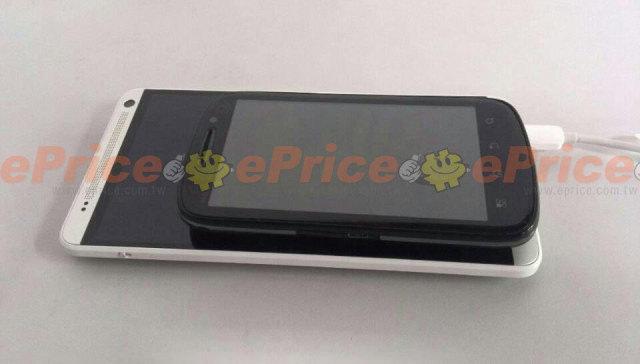 Le prétendu HTC One Max montre comment il est grand par rapport aux dispositifs de 4 pouces