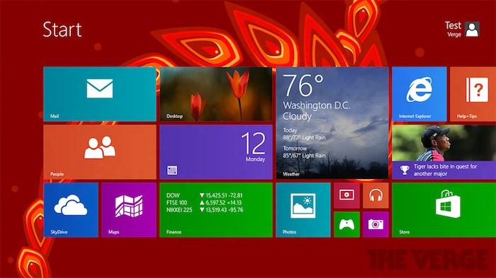 De nouveaux fonds d'écrans sous Windows 8.1