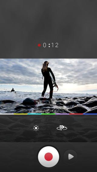 Enregistrement d'un clip sur Mixbit